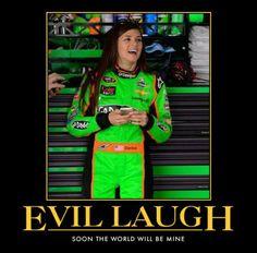 automotivator_danica evil laugh