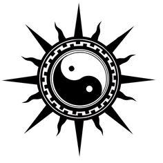 yin n yang by babahall