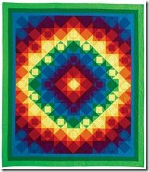 Baja sunset in McCall's Quilting