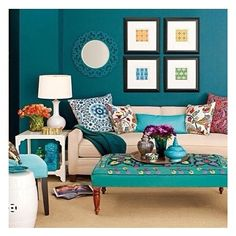 This would be a cool accent color... I just emailed Rhonda to see if we can paint. :)
