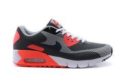 pretty nice 145df 9b716 Nike Air Max 90 Negro Jcrd Gris Naranja Zapatillas Hombres Blanco