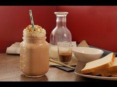 ¿Cómo hacer un frappuccino casero? - YouTube Starbucks Frappuccino, Pudding, Cheese, Desserts, Recipes, Food, Youtube, Diy, Vanilla