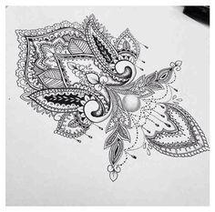 Body - tattoo's - i want this mandala design on my wrist Symbol Tattoos, Henna Tattoos, Neue Tattoos, Body Art Tattoos, Mandala Tattoo Design, Henna Designs, Tattoo Designs, Tattoo Painting, Hand Tattoo