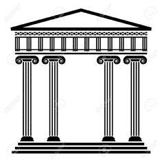 arquitectura griega columnas - Buscar con Google
