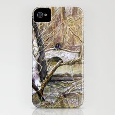 Somewhere in  America iPhone Case by Vargamari - $35.00 - My original watercolor, painted three years ago, when I came to America...