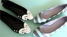 Lindas sapatilhas customizadas.  http://www.justdiy.com.br/?s=sapatilhas&submit=Search