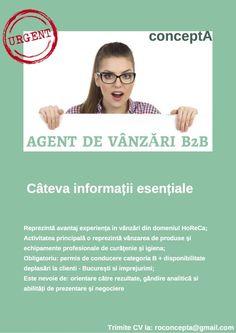 Anunt Agent de vanzari B2B Cautam Agent de vanzari B2B - Bucuresti pentru produse și echipamente... #42773961