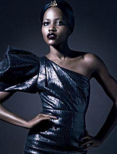 Lupita Nyong'o Gets High Fashion Spread in VOGUE Italia - MaseTV- Real NOT Ratchet Urban Entertainment News