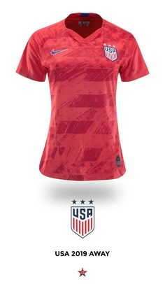 77e513a4d USWNT 2019 Away Jersey by Nike. The 2015 champions will look to defend  their title at this summer's FIFA Women's World Cup ...
