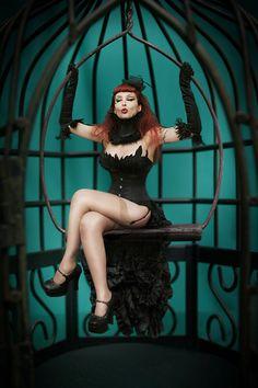 Birdcage by ~lucylle on deviantART