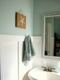 Sherwin Williams Hazel with white paneling