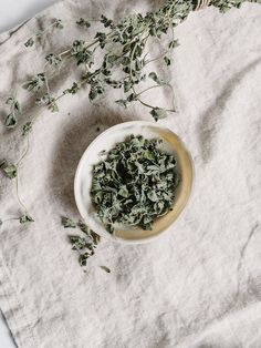 How-To Freeze or Dry Fresh Herbs like Basil, Thyme, Parsley and More — The Effortless Chic