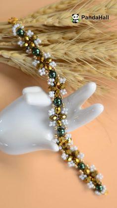 How to make a handmade bracelet August promotion ! - OandB Trade - How to make a handmade bracelet August promotion ! Bracelets Diy, Men's Jewelry Rings, Bead Jewellery, Handmade Bracelets, Beaded Jewelry, Handmade Jewelry, Making Bracelets, Beaded Bracelets Tutorial, Handmade Beads