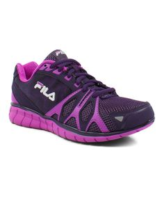 Look at this FILA Purple Shadow Sprinter Running Shoe on #zulily today!