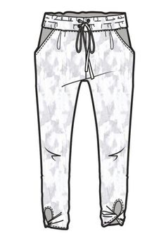 Flat Drawings, Flat Sketches, Technical Drawings, Pants Drawing, Drawing Clothes, Fashion Design Drawings, Fashion Sketches, Croquis Fashion, Kids Sportswear