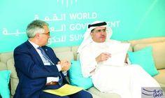 """""""كهرباء دبي"""" تتعاون مع الشركات الإيطالية في…: تشارك هيئة كهرباء ومياه دبي في فعاليات الدورة الخامسة من «القمة العالمية للحكومات» التي تقام…"""