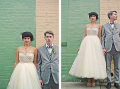 What a great shot of this uniquely stylish couple I Jose Rolon Events I #photography #photos #weddingphotos