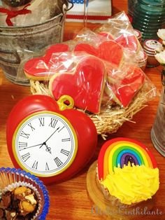 Wizard of Oz themed birthday party via Kara's Party Ideas | Cake, decor, favors, recipes, games, and MORE! KarasPartyIdeas.com #wizardofoz #...