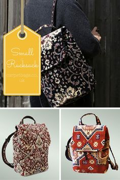 Small Rucksack RRP £89 www.carpetbags.co.uk