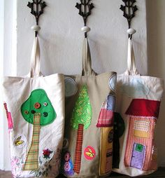 As a child I painted primarily houses and gardens. Now I have tried to realize my ideas with fabric. Since I love the combination of toy and useful thing, I made a game bag.  Filled with a pillow or blanket, the bag has a good level and you can play w http://www.toybinorganizer.org