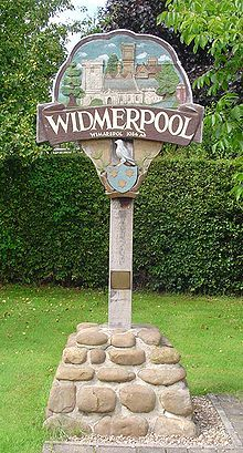"""Widmerpool is one of the oldest settlements in Nottinghamshire. In the Domesday Book it is listed as """"Widmarspol"""" and """"Widmarspold."""" It is thought to mean """"Widmar's pond"""" and is pronounced locally as """"Windepul. I Miss My Sister, Domesday Book, Town Names, Decorative Signs, Industrial Revolution, Derbyshire, British Isles, Amazing Architecture, Great Britain"""