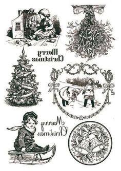 Новости Frugal Christmas, Christmas Signs, Christmas Printables, All Things Christmas, Vintage Christmas, Christmas Crafts, Xmas, Wax Paper Transfers, Image Transfers