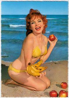 Banana beach babe