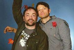 Crowley and Castiel