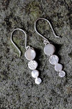 Sterling Silver Bubble Earrings by WyeMade on Etsy https://www.etsy.com/listing/205136694/sterling-silver-bubble-earrings