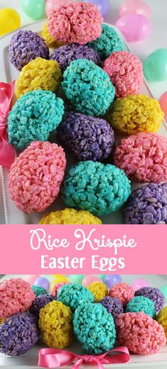 Rice Krispie Easter Eggs - Rice Krispie Easter Eggs – an Easter dessert that is fun, easy and delicious. Your family will lo - : Rice Krispie Easter Eggs - Rice Krispie Easter Eggs – an Easter dessert that is fun, easy and delicious. Your family will lo - Easter Snacks, Easter Brunch, Easter Recipes, Easter Food, Easter Party, Dessert Recipes, Easter Decor, Easy Easter Desserts, Snacks Kids