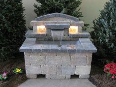 Brick wall Fountain