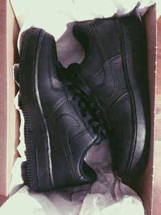 All Black Everything - Black Nike Air Force