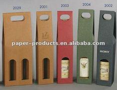 forma de troquelado bolsa de papel reciclado para una sola botella de vino-Bolsas-Identificación del producto:622023129-spanish.alibaba.com