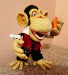 Мини дон Карлеонэ - Мои любимчики - Галерея - Форум почитателей амигуруми (вязаной игрушки)