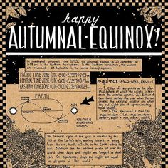 Happy Autumnal Equinox! Here's a little info sheet I drew a few years ago for the occasion. I hope everyone's day is full of drifting leaves and chilly breezes and hot mugs of tea! #art #illustration #infographic #autumn #autumnalequinox #mabon #pagan #astronomy