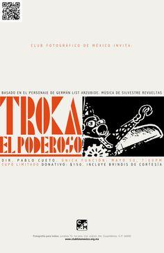 TE ESPERAMOS HOY a la función especial de Troka el Poderoso, 7:00pm. ;) http://www.clubfotomexico.org.mx/troka-el-poderoso/