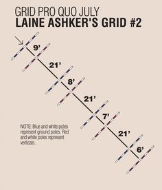 Grid Pro Quo with Laine Ashker Dressage, Horse Exercises, Training Exercises, Horse Riding Tips, Riding Lessons, Equestrian Outfits, Equestrian Style, Show Jumping, Horse Training