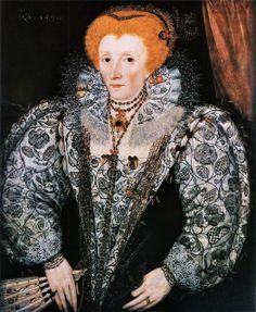 Queen Elizabeth I, by an unknown artist, 1590. Jesus College, Oxford.