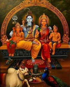 Lord Ganesha Paintings, Lord Shiva Painting, Durga Painting, Lord Shiva Pics, Lord Shiva Family, Lord Shiva Hd Wallpaper, Lord Vishnu Wallpapers, Shiva Art, Hindu Art