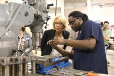Education Secretary Betsy DeVos visited Grand Rapids Community College in August.