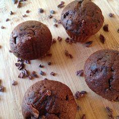 Gezonde chocolade cupcakes, ja dat lees je goed! Superlekker en nog gezond ook, wat wil je nog meer!