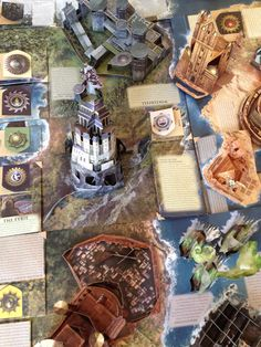 Incredible Game of Thrones pop-up book folds out to 3D Westeros map - Boing Boing