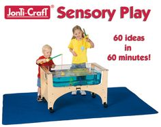 great ideas for sensory tables!