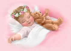 *:~ When a sleeping baby smiles an Angel is whispering in their ear ~:*.