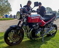 One of the best I've seen, GSX1100EFE with GSX1400 engine