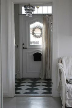 1000 Images About Front Door Curtain On Pinterest