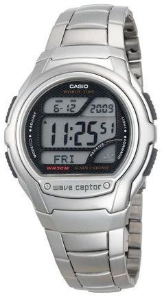 Casio Men's WV58DA-1AV Waveceptor Atomic Sport Watch Casio. $33.87. Save 32%!