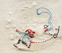 Mila en de sneeuwpop gemaakt door RevoluzZza