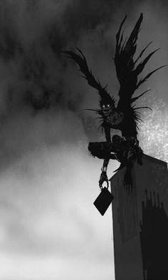 Ryuk and a Shinigami (god of death) is the one who made death . - Ryuk and a Shinigami (god of death) is the one who made death … – one - Shinigami, Manga Anime, Anime Art, Otaku Anime, L Death, Death Note L, Death Note Near, Dark Anime, Anime Negra