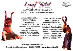 Corsi settimanali e mensili con Grazia Manetti  presso STUDIO G - MILANO Sant'Ambrogio